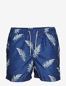SLHCLASSIC AOP SWIMSHORTS W - shorts de bain - dark sapphire