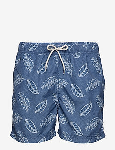SLHCLASSIC AOP SWIMSHORTS W - shorts de bain - estate blue