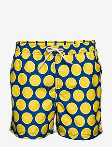 SLHCLASSIC AOP SWIMSHORTS W - swim shorts - estate blue