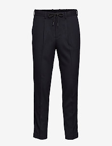 SLHSLIMTAPERED-LEO PANTS B - DARK NAVY