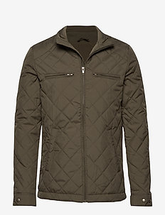 SLHJASON QUILTED JACKET W - SEA TURTLE