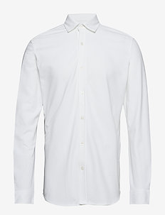 SLHSLIMCOLE SHIRT LS B - BRIGHT WHITE