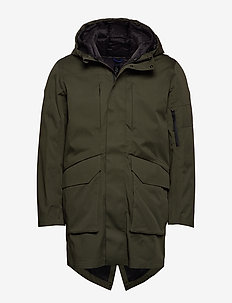 SLHIKE TECH PARKA B - parka's - forest night
