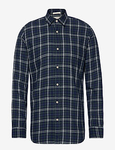 SLHSLIMWOOD SHIRT LS CHECK W - LIMOGES