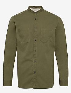 SLHREGCAMERON SHIRT LS MIX W - chemises basiques - grape leaf