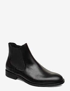 SLHLOUIS LEATHER CHELSEA BOOT B NOOS - chelsea boots - black