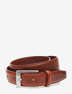 SLHFILLIP FORMAL BELT NOOS B - COGNAC