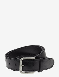 SLHTERREL LEATHER BELT NOOS W - riemen - black