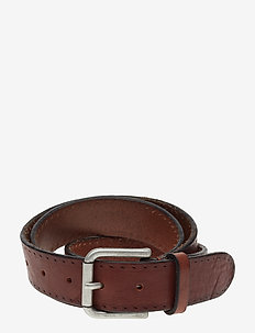 SLHTERREL LEATHER BELT NOOS W - riemen - cognac