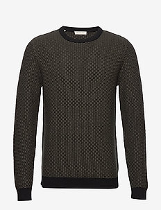 SLHAIDEN CAMP CREW NECK W - BLACK