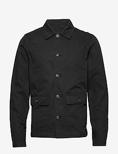 SLHCHARLIE WORKWEAR JACKET W - BLACK