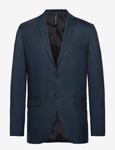 SLHSLIM-MYLOSTATE FLEX DK BL BLZ B NOOS - single breasted suits - dark blue