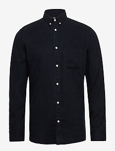 SLHSLIMPASTEL SHIRT LS W - basic skjorter - dark sapphire