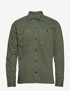 SLHREGLAMAR SHIRT JACKET LS W - basic shirts - beetle