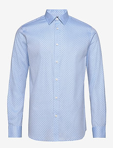 SLHREGPEN-KENO SHIRT LS B NOOS - business skjorter - light blue
