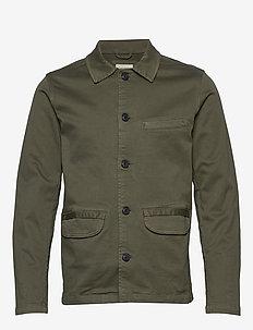 SLHJAKE JACKET W - basic shirts - beetle
