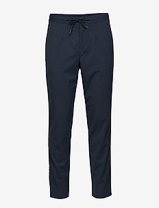 SLHSLIMTAPERED-PETE PANTS B - formele broeken - dark navy