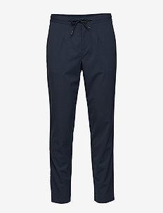 SLHSLIMTAPERED-PETE PANTS B - suit trousers - dark navy