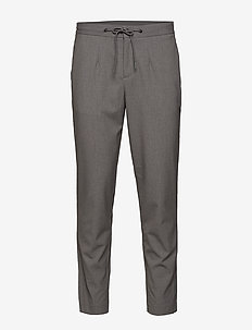 SLHSLIMTAPERED-PETE PANTS B - GREY