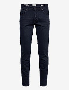 SLHSTRAIGHT-SCOTT 6155 BB SU-ST JNS NOOS - regular jeans - blue black denim
