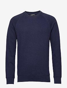 SLHRAMI CREW NECK SWEAT B - basic sweatshirts - maritime blue