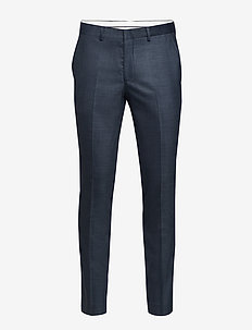 SLHSLIM-MYLOSTATE FLEX BL STR TRS B NOOS - suit trousers - dark blue