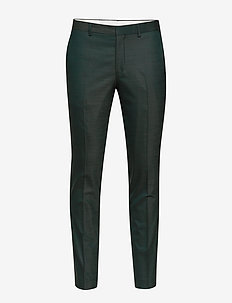 SLHSLIM-MYLOSTATE FLEX GREEN TRS B NOOS - suit trousers - dark green