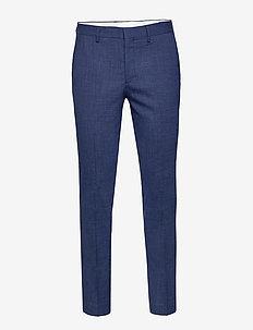 SLHSLIM-OASIS BLUE TRS B - suit trousers - estate blue