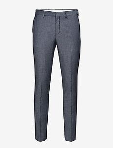 SLHSLIM-MYLOBILL LT BLUE STRC TRS B NOOS - suit trousers - light blue