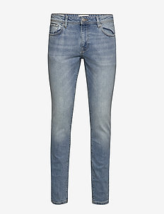 SLHSLIM-LEON 3020 L.BLUE ST JEANS W NOOS - slim jeans - light blue denim