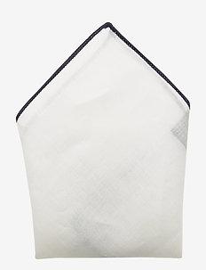 SLHMALEK HANKIE BOX B - WHITE