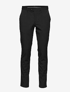 SLHSLIM-CARLO FLEX PANTS B NOOS - suit trousers - black