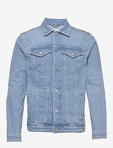 SLHJEPPE 4013 LIGHT BLUE ST DNM JACKET W - spijkerjassen - light blue denim