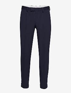 SLHSLIMTAPE-FRANKIE FLEX NVY ANK PANTS B - suit trousers - navy blue