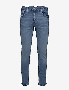 SLHSLIM-LEON 6211 LBLUE SU-ST JNS W NOOS - slim jeans - light blue denim