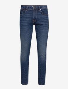 SLHSLIM-LEON 6212 MB SUPER ST JNS J NOOS - slim jeans - medium blue denim
