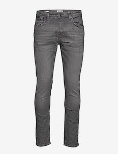 SLHSLIM-LEON 6213 MGR SU-ST JEANS W NOOS - slim jeans - grey denim