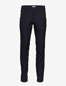 SLHSLIM-STORM FLEX SMART PANTS W NOOS - suit trousers - dark sapphire