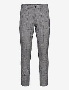 SLHSLIM-STORM FLEX SMART PANTS W - casual byxor - grey