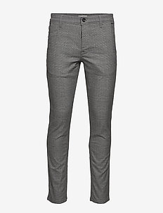 SLHSLIM-STORM FLEX SMART PANTS W NOOS - suitbukser - grey