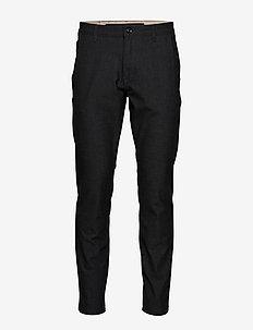 SLHSLIM-STORM FLEX SMART PANTS W NOOS - suit trousers - grey