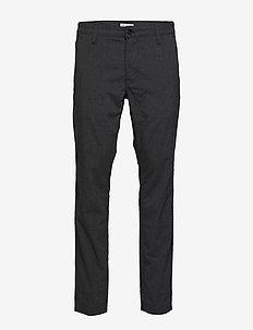 SLHSLIM-STORM FLEX SMART PANTS W NOOS - dressbukser - grey melange