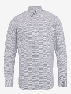 SLHSLIMMICHIGAN SHIRT LS B NOOS - basic skjorter - white