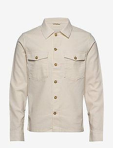 SLHEAST LINEN OVERSHIRT W - basic overhemden - turtledove