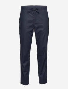 SLHSLIMTAPERED-DAVE LINEN PANTS B - suitbukser - sky captain