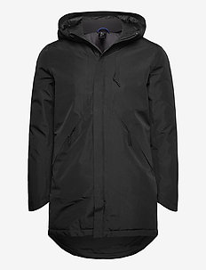 SLHOLIVER TECH  COAT B - parkas - black