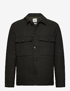 SLHWILLIAM WOOL JKT W - ulljakker - rosin