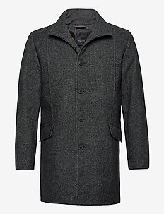 SLHMORRISON  WOOL COAT B - ullfrakker - dark grey