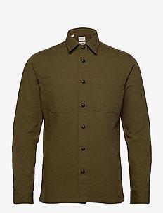 SLHREGSAKI SHIRT JACKET LS W - basic skjortor - forest night