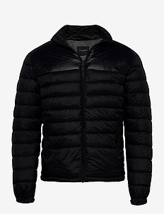 SLHNATHAN PUFFER JKT B - padded jackets - black
